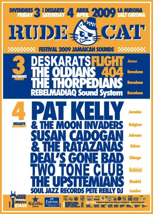 rude cat 2009
