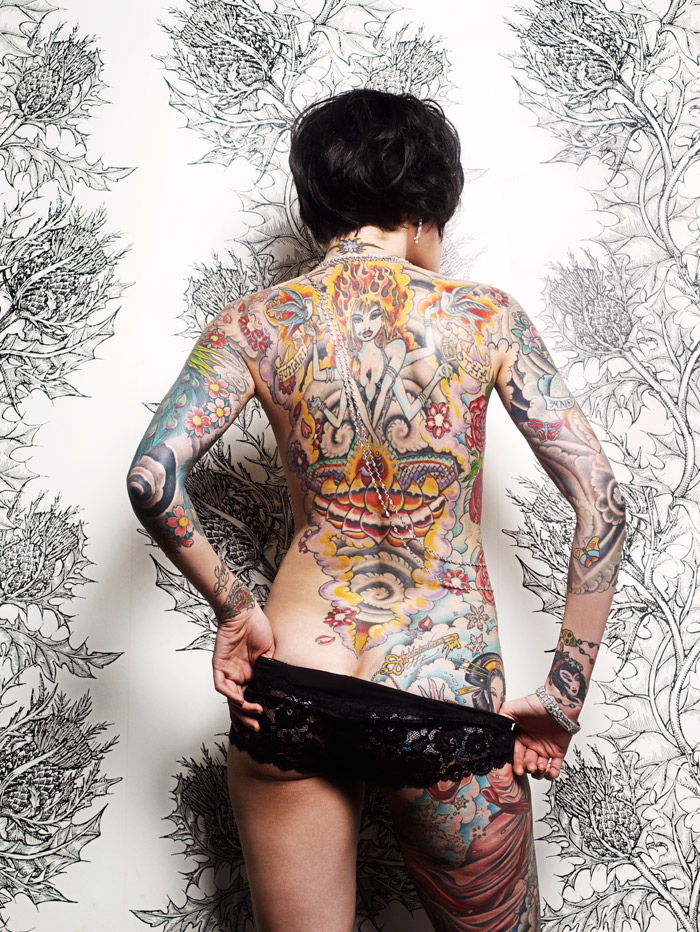 fashion Tattoo ((Julie Becker))